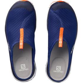 Salomon M's RX Slide 3.0 Shoes Surf the Web/White/Schocking Orange